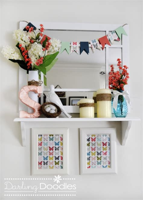 Shelf Decoration by Shelf Decor Doodles