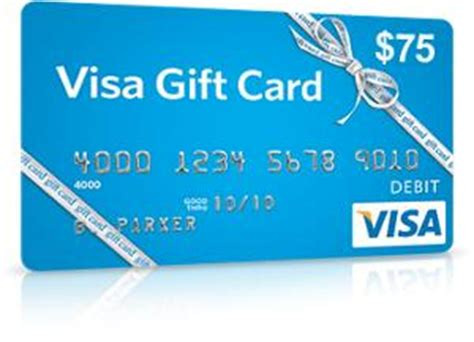 contest win a 75 visa gift card - Visa Gift Card Maximum Value