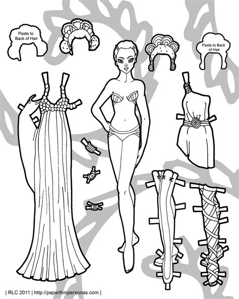 printable elf paper dolls african inspired elf paper thin personas paper thin