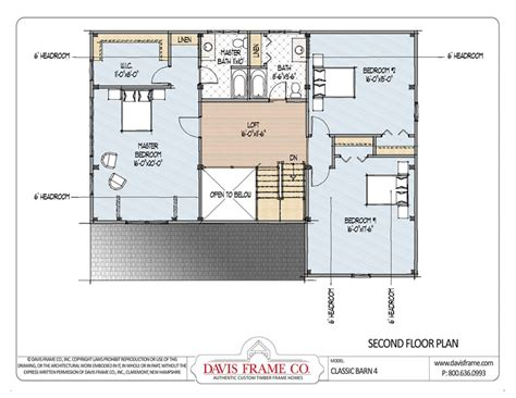 Barn Home Post And Beam Floor Plans Classic Studio 3 | classic barn home 4 by davis frame post and beam plans