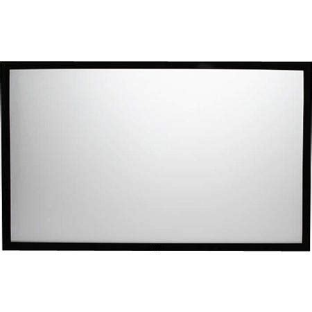 Fixed Frame Screen 84 Inci audio solution s fixed frame high contrast screen 84