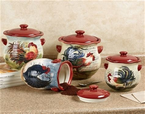 rooster kitchen canister sets rooster canister set rooster canister set and collection