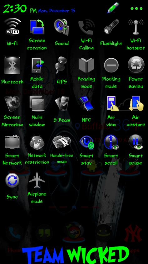 note 3 themes and apps xda theme wicked green theme for priest punch sprint