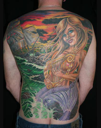 full back piece by watsun atkinsun tattoonow mermaid back piece tattoo by marco hyder tattoonow