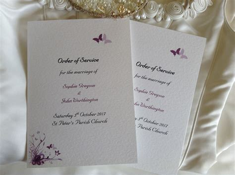 Wedding Service by Wedding Order Of Service Books