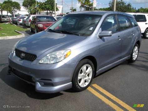 2004 Toyota Matrix Xr Cosmic Blue Metallic 2004 Toyota Matrix Xrs Exterior Photo