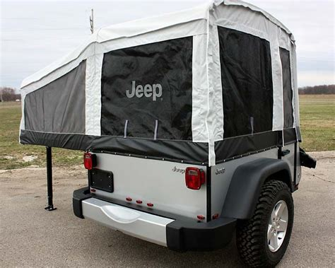 jeep pop up tent jeep introduces cers built by livin lite rv cing