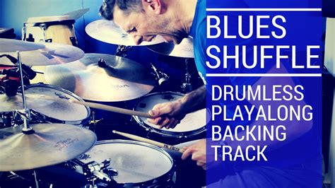 swing blues backing track blues shuffle drum backing track total drummer online