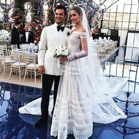 ana beatriz barros  karim el chiatys wedding arabia