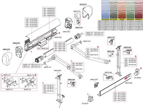 rv awning repair parts rv awning parts diagram dometic awning motor diagram