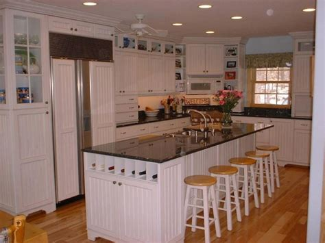 White Country Kitchen Cabinets by White Beadboard Kitchen Cabinets Pictures Roselawnlutheran