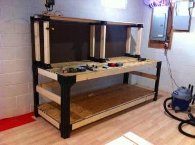 basics anysize workbench kit  shelflinks model