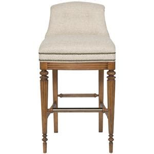 Bar Stools Franklin Tn by Vanguard Furniture Accent Chairs Upholstered Bar Stool