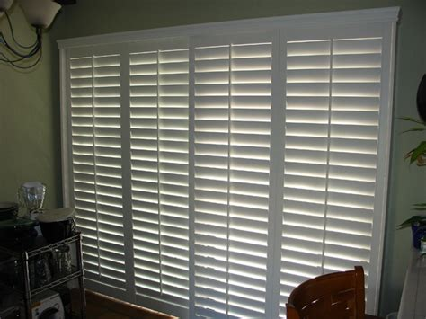 arcadia door curtains bypass shutters are ideal for arcadia sliding glass door