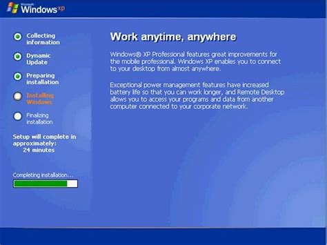 installing xp step by step how to install windows xp zerotech