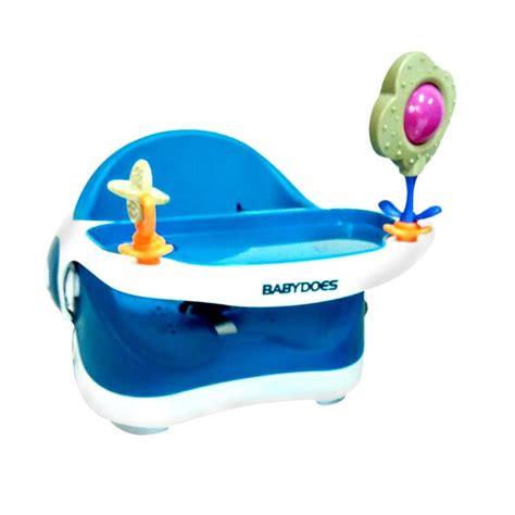 Harga Kursi Makan Bayi Babydoes by Jual Babydoes Bd7340 Booster Seat Kursi Makan Bayi Blue