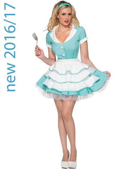 50 theme costumes hairdos sexy 50s housewife womens costume themes