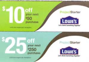 tshoffman lowe s lowes coupon 10 50 or 25 250