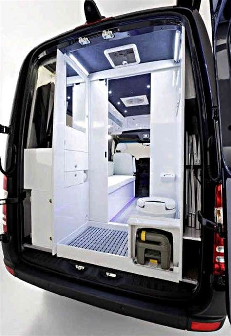 Van Bath Cargo Van Conversion