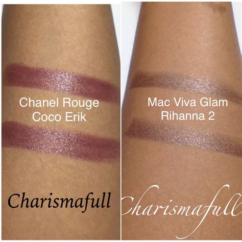 Chanel Lipstick Vs Mac chanel coco 456 erik lipstick reviews photos w swatches charismafull