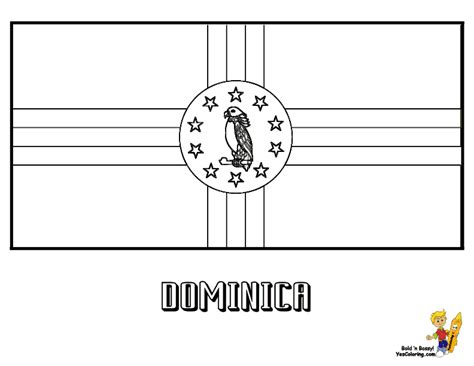 dominican republic flag coloring page auspicious flags colouring nations cambodia ethiopia