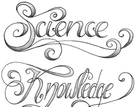 tattoos and doodles science amp knowledge