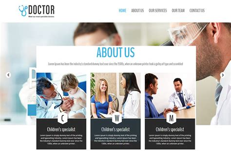 bootstrap templates for doctors 30 best bootstrap templates for free download templateflip
