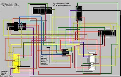 nissan pulsar gtir wiring diagram efcaviation