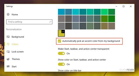 how to change taskbar color change taskbar color in windows 10 this way