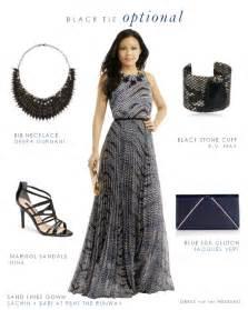 black tie optional wedding attire long gown for wedding