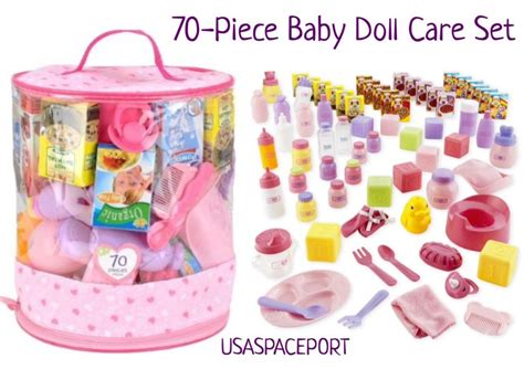 Baby Doll With Potty Chair by 70pc Baby Doll Care Set Potty Chair Dishes Diapers Food