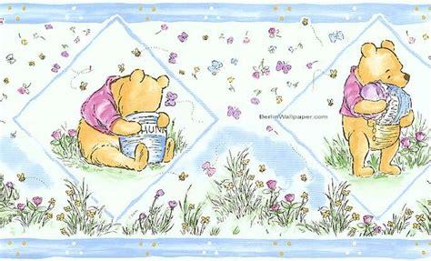 classic pooh wallpaper border disney classic winnie the pooh wallpaper border nursery