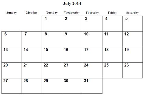july 2014 calendar template annual monthly calendar calendar template 2016