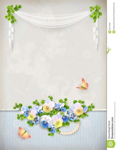 romantic flower background vector vector flower free vector free shabby chic romantic flower vintage background stock