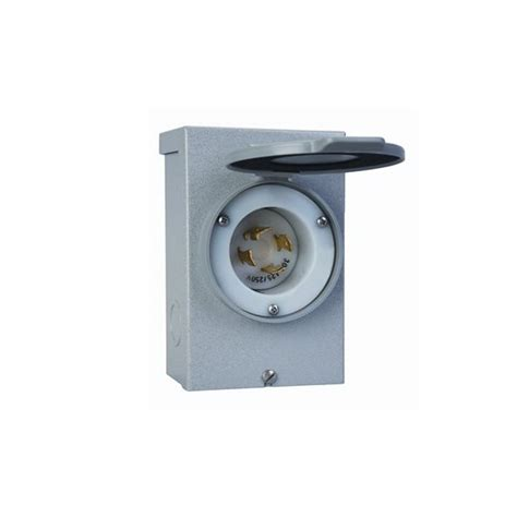 Box Outdoor Rb433 Series reliance pb20 pb series outdoor power inlet box 2 5 8 inch crescent electric supply company