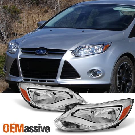 Headl Ford 2014 2012 2013 2014 ford focus left right side headlights ls assembly pair ebay