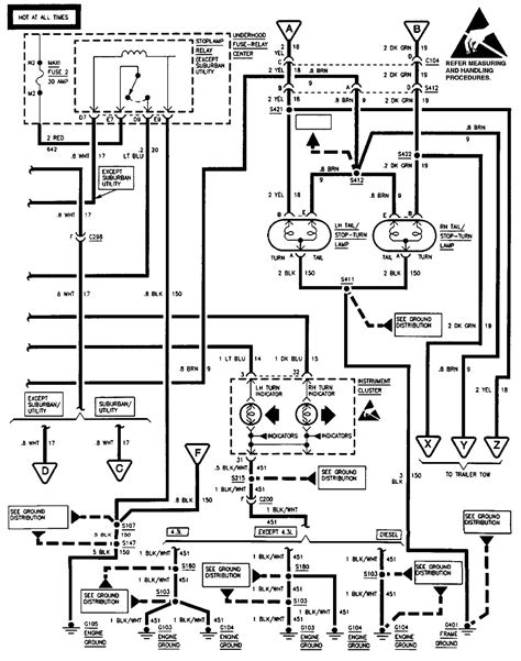 wiring diagram for 2008 chevy suburban get free image