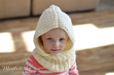 free pattern hooded cowl cozy cute toddler hooded cowl crochet pattern stitch