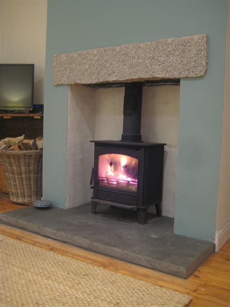 Fitting Log Burner Into Fireplace by Wood Burning Stove Installation Images Home Fixtures