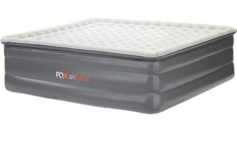 king size raised air mattress plush high rise airbed by fox air beds