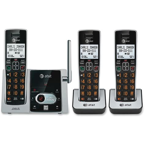 At T Wireless Phone Number Lookup Attcl82313 At T Cl82313 Dect 6 0 Cordless Phone Zuma