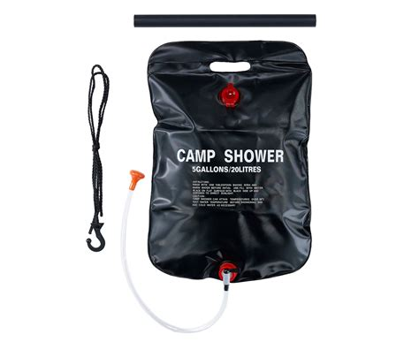 C Shower Bag 20 Litres Tas Air caribee 20l solar c shower black great daily deals at australia s favourite superstore