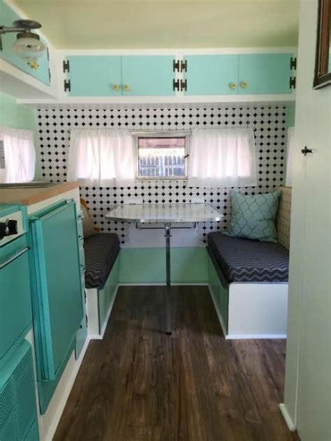 travel trailer restoration ideas fully restored 1967 jet vintage travel trailer 13 long