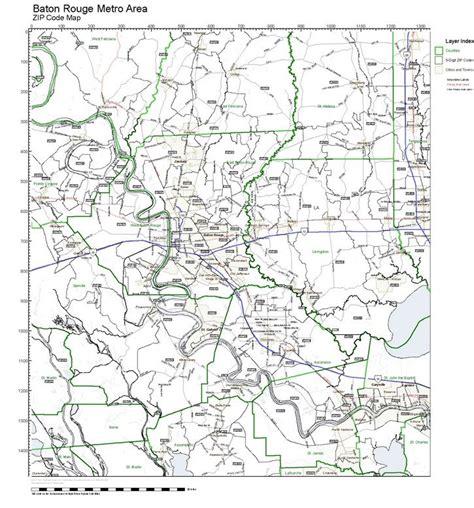 zip code map baton rouge workingmaps com zip code maps