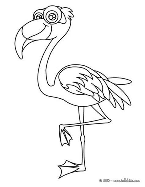 flamingo coloring pages hellokids com