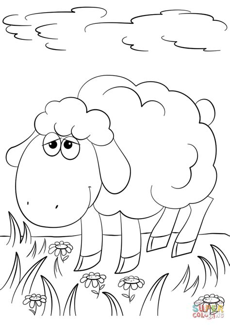 cute lamb coloring pages click the little lamb coloring pages coloring page lamb