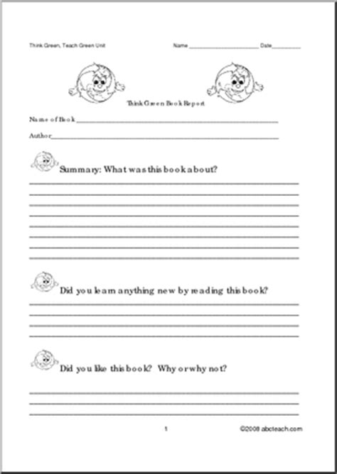primary book report 17 best images of chapter summary worksheets elementary