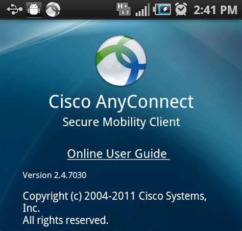 cisco anyconnect android cisco anyconnect for samsung android phones careace 1 samsung smartphone support