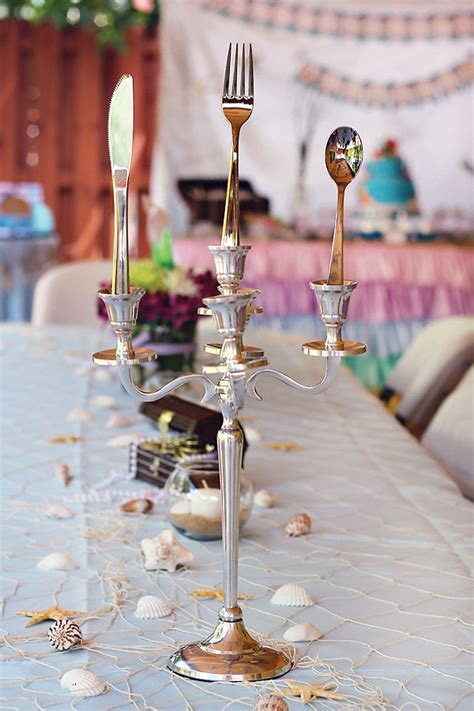 Ariel Table Decorations by Mermaid The Sea Adventure Hostess With The Mostess 174