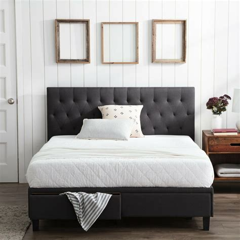 brookside anna upholstered storage bed   drawers